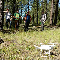 DroneFire at the University of Montana